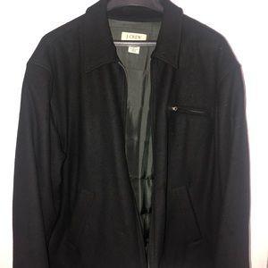 J. Crew pea coat.